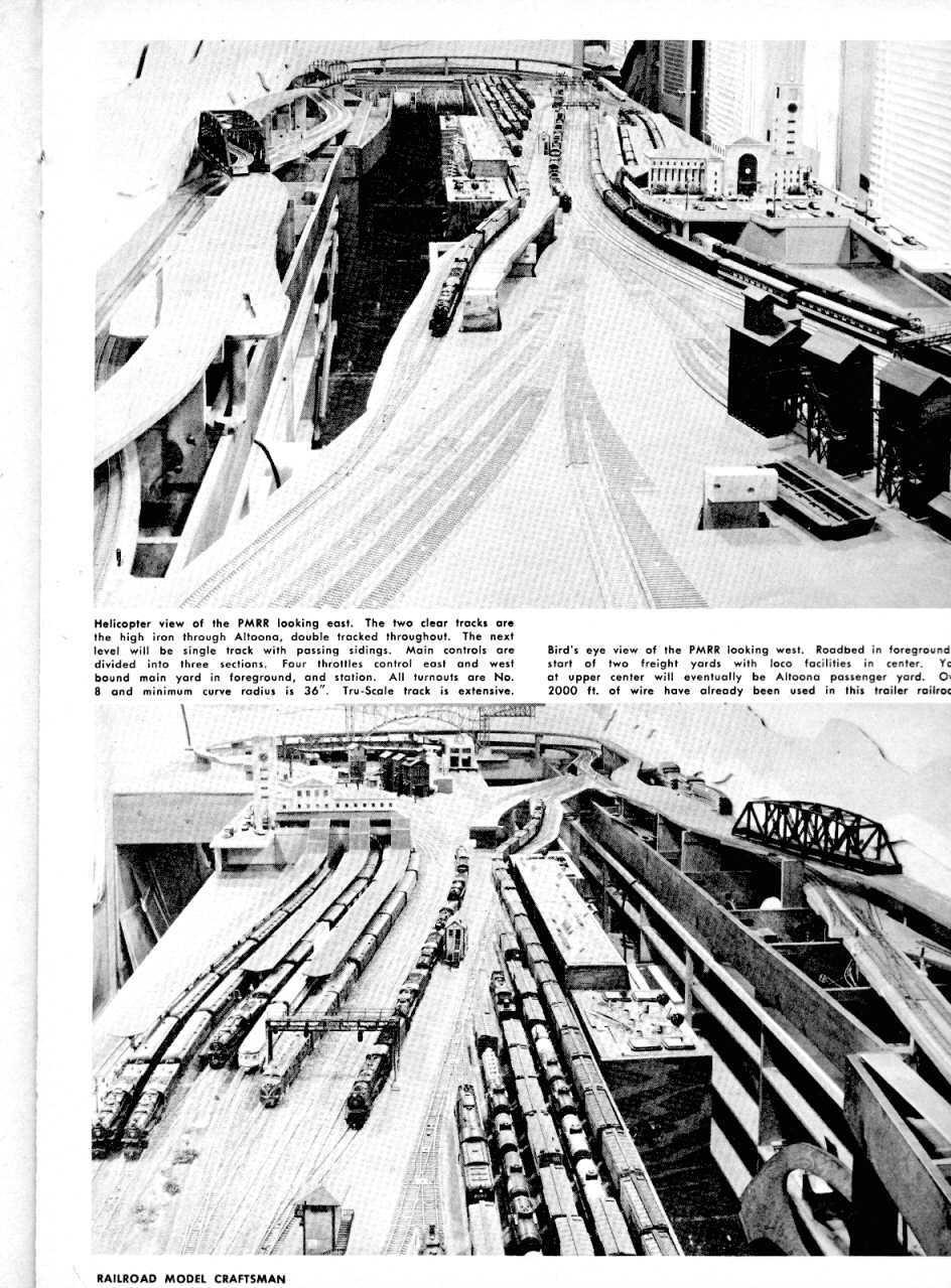 Alex Landesco layout page 29 Railroad Model Craftsman