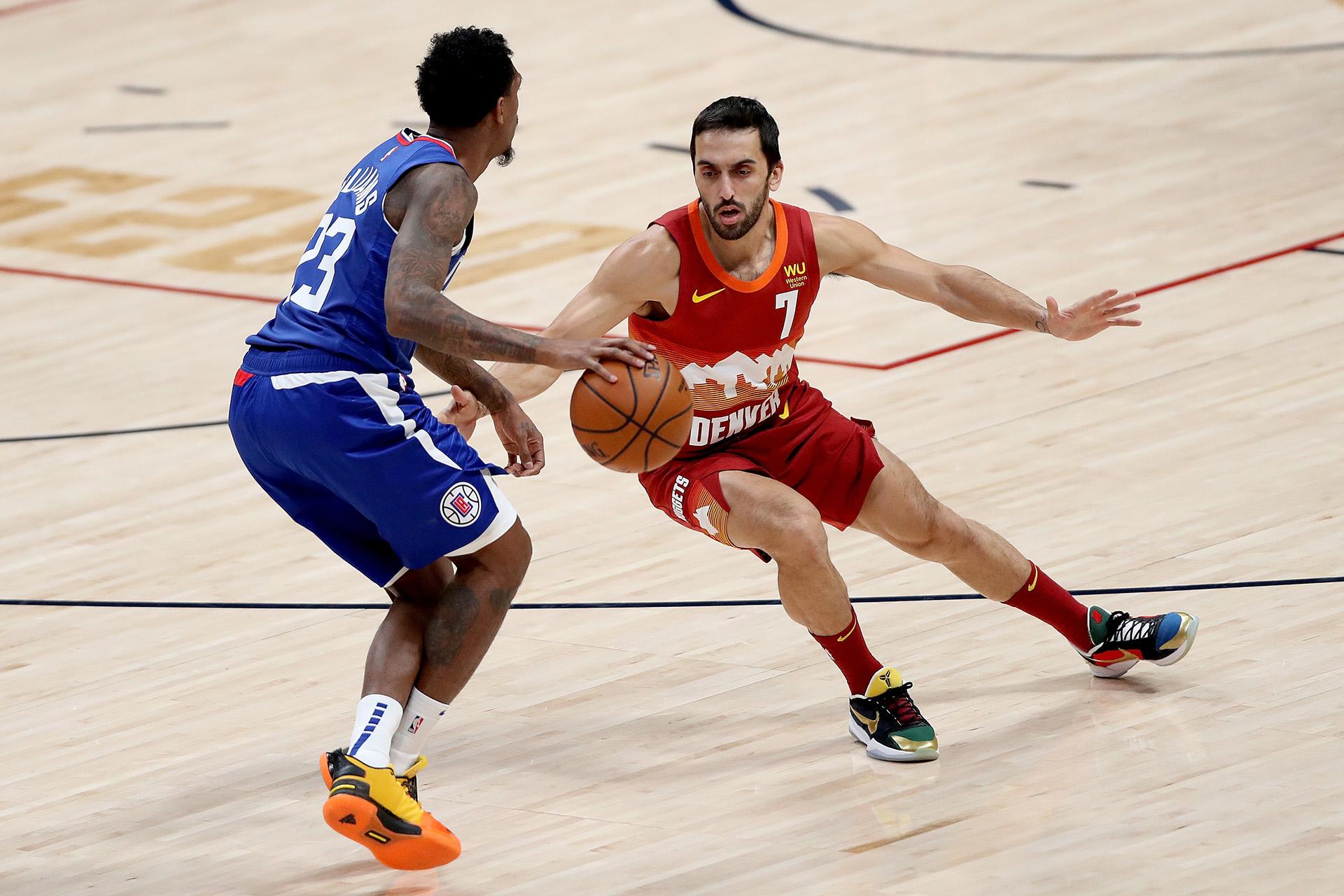 NBA: Campazzo tuvo algunos minutos de participación en la caída de Denver Nuggets ante Los Ángeles Clippers