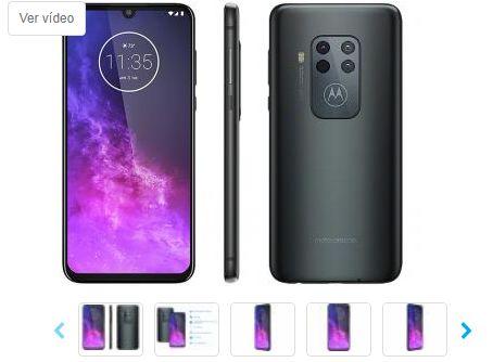Smartphone Motorola One Zoom 128GB Titanium 4G