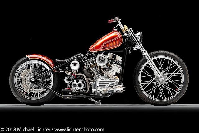 'Grace', uma moto estilo 'bobber'