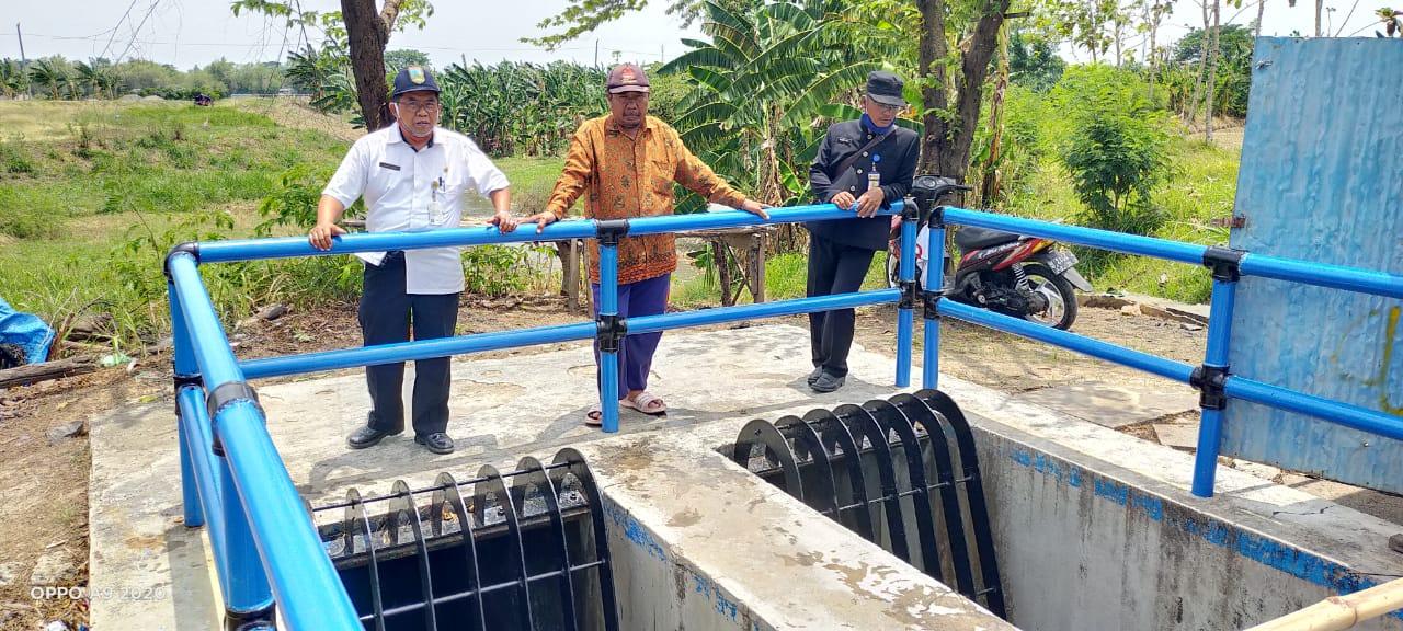 Air Irigasi Waduk Kedungombo Mulai Digelontorkan