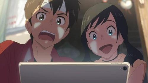 """Weathering With You"" (Tenki no Ko) Hodaka & Hina"