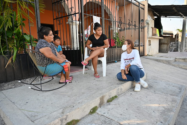Justicia para las mujeres dejará de ser un escritorio en un rincón: Geovanna Campos