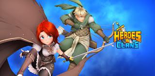 Heroes & Clans: Idle RPG_fitmods.com