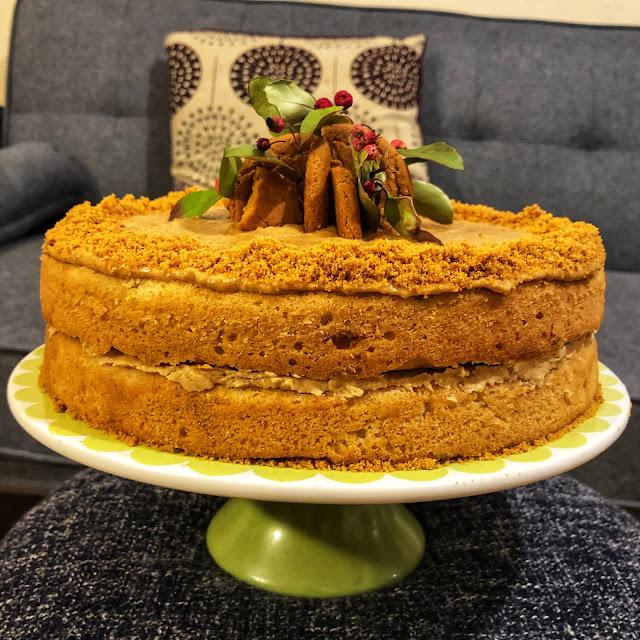 vegan nigerian ginger nut cake