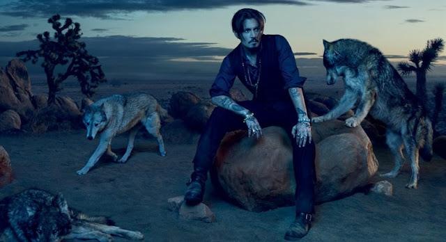 Johnny Depp w kampanii Dior Sauvage EdP