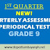NEW! 1st Periodical Test  for Grade 9, SY 2019-2020