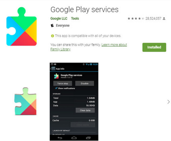 """See How to Fix """"Google Play Service Keep Stopping"""""""