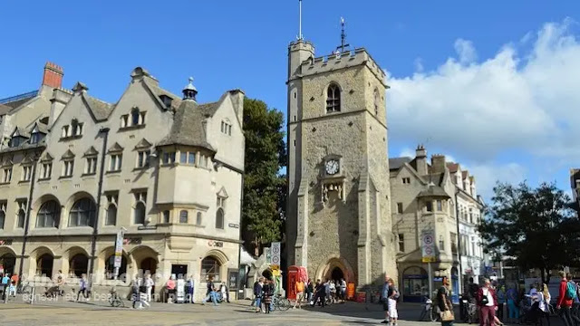 Carfax Tower  Oxfordshire