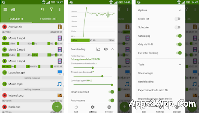 Advanced Download Manager Pro (ADM) APK