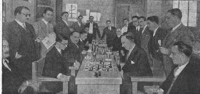 Dr. Rey contra Manuel Golmayo en el Campeonato de España de Ajedrez 1930