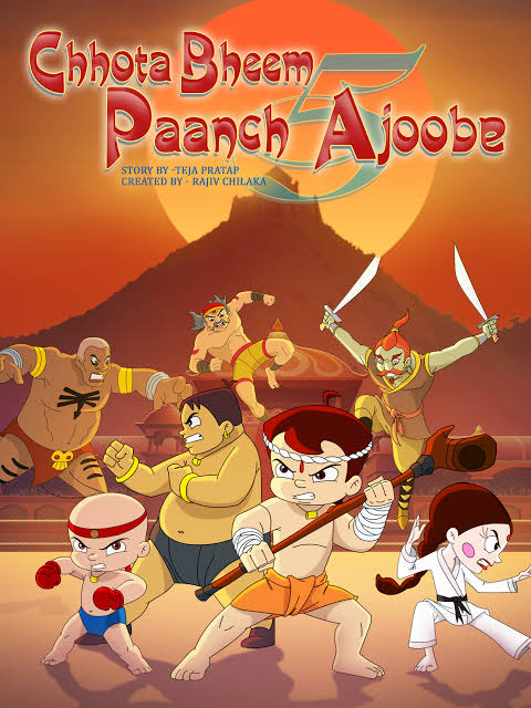 Chhota Bheem Aur Paanch Ajoobe Movie Images In 720P