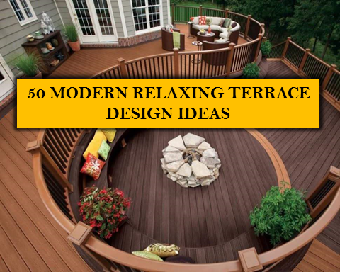 Terrace is the outdoor and indoor living space in our home and a great place for relaxation after busy days. It's may also be a favorite spot for eating especially during hot summer days.  To all terrace lovers who are planning to build or renovate their terraces, we are providing you with some modern terrace  design ideas that makes you feel like on a vacation at the comfort of your own home