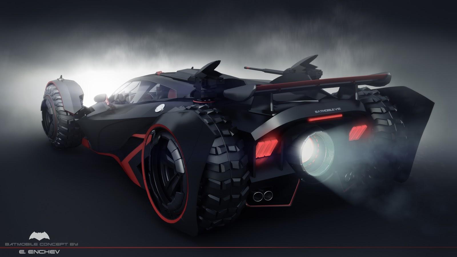Best Car Sound System >> batmobile concept V12 - 3DTotal Forums