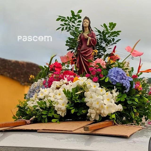 Festejos da Padroeira de Macajuba, 'Santa Luzia' deu início na manhã desta terça-feira