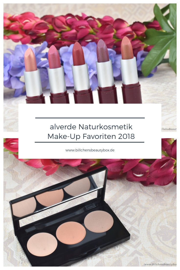 alverde Naturkosmetik - Make-Up Review Favoriten 2018 und Gewinnspiel