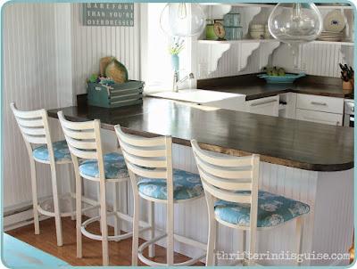beach house stools