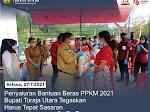 Penyaluran Bantuan Beras PPKM Bupati Toraja Utara Tegaskan Harus Tepat Sasaran