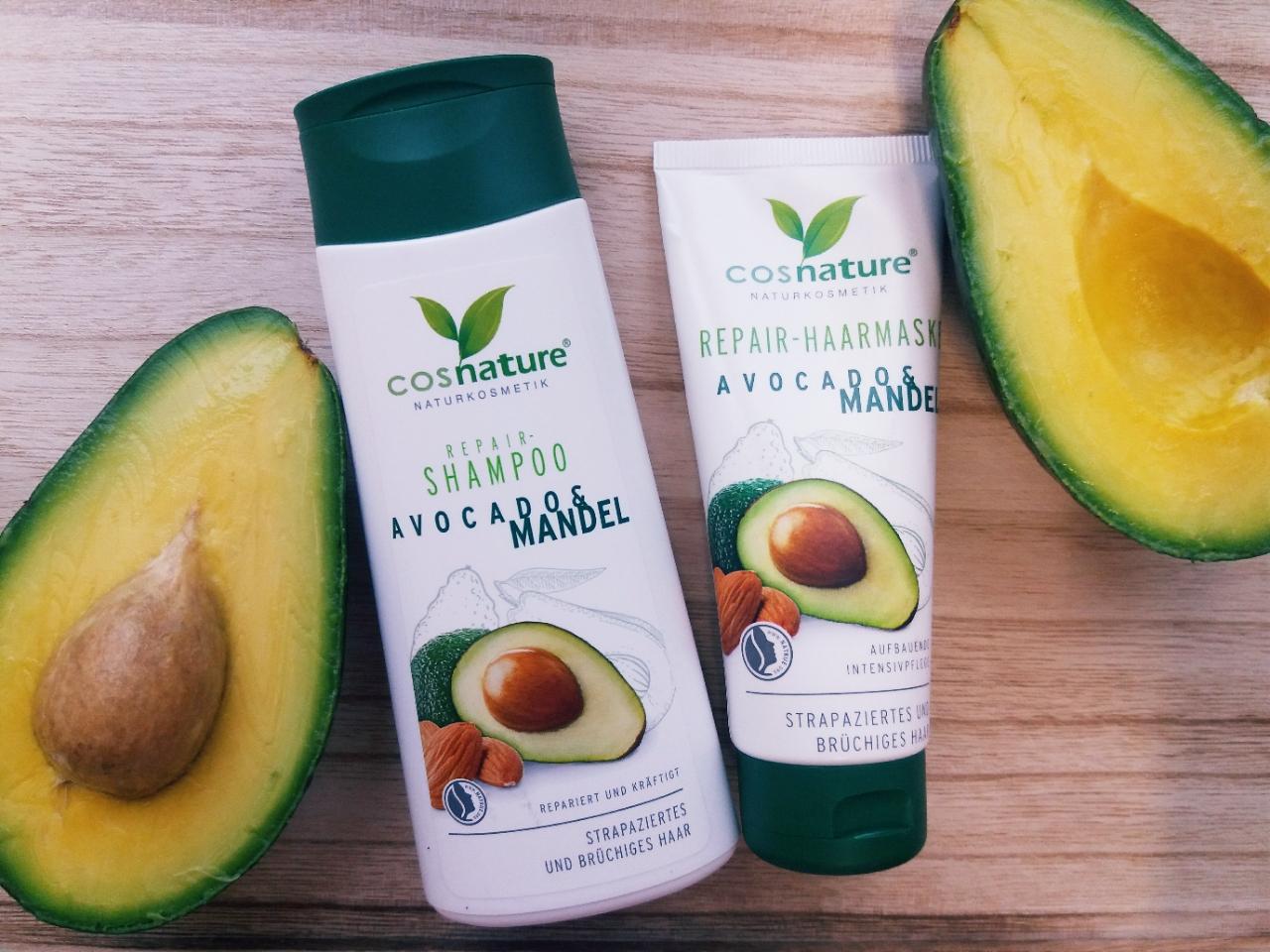 Cosnature, seria avocado - idealny duet dla suchych włosów!
