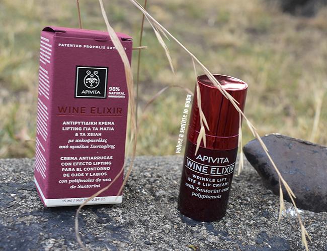 Sérum Antiarrugas con efecto Reafirmante - Apivita Wine Elixir Santorini Wine