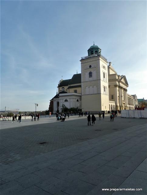 ¿seguimos conociendo Varsovia? mirador Iglesia Santa Ana