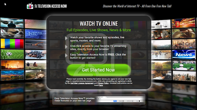 Easy Television Access Now Toolbar