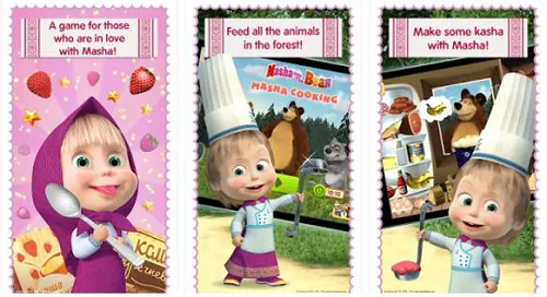 Masha and Bear - Cooking Dash