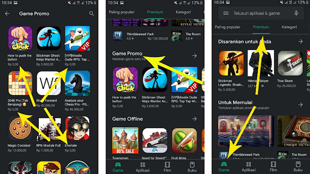 Cara Download Game Premium di Play Store Secara Gratis