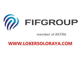 Lowongan Kerja Agustus 2021 di FIF Group Solo Raya