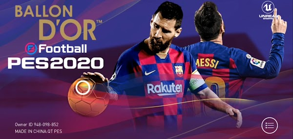 eFootball PES 2020 v4.1.0 Mobile (Patch ) NO ROOT