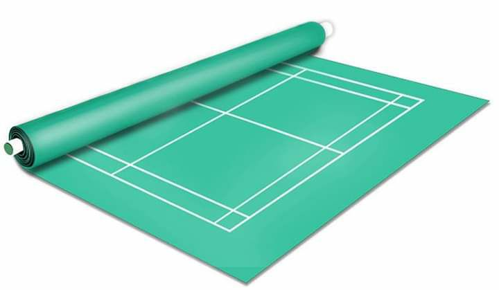 karpet vinyl badminton
