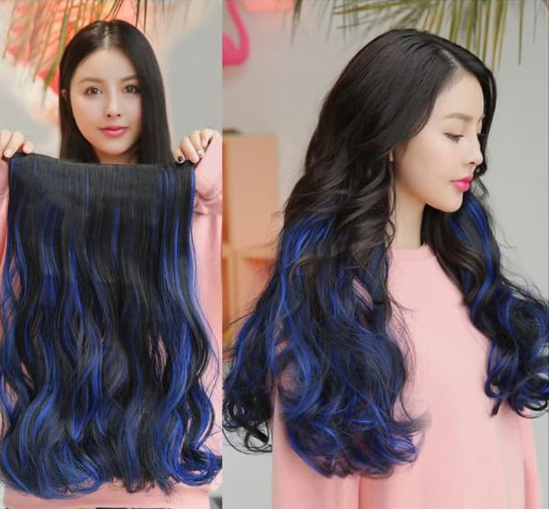 Hair clip curly trend model rambut palsu