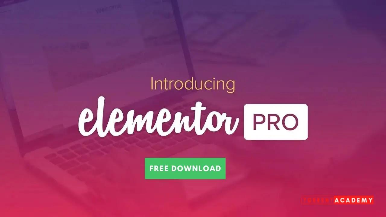 Elementor Pro plugins Free Download