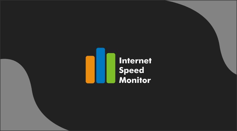 Aplikasi Internet Speed Monitor di Toolbar Windows