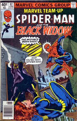 Marvel Team-Up #82, Spider-Man and the Black Widow