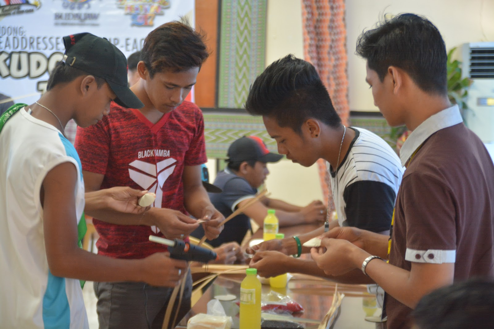 DOT-12 & LGU-Tacurong conduct Training on Kudong Souvenir-Making