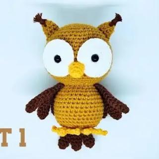 Amigurumi Búho a Crochet