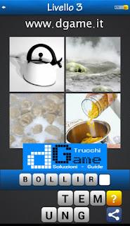 PACCHETTO 5 Soluzioni Trova la Parola - Foto Quiz con Immagini e Parole soluzione livello 3