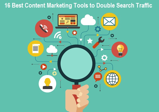 Top 16 Content Marketing Tools to Double Search Traffic