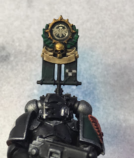 1st Legion Dark Angels Calibanite Tactical Squad WIP - vexilla