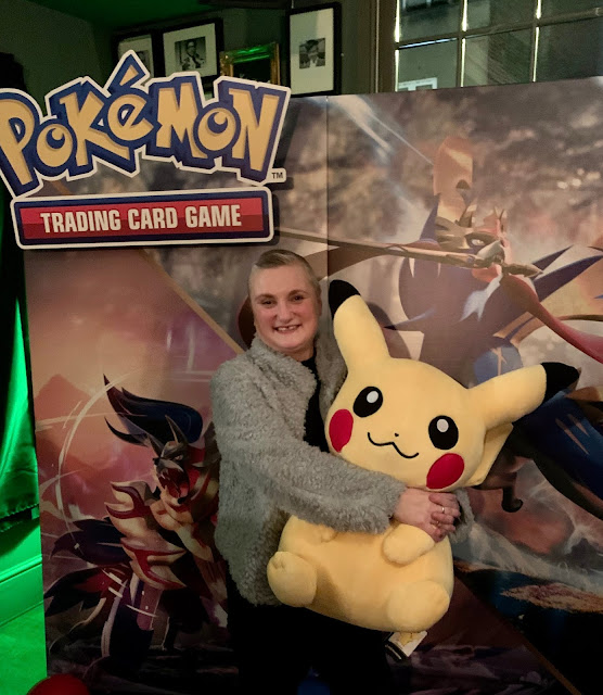 madmumof7 with Pikachu at #PokemonTCG