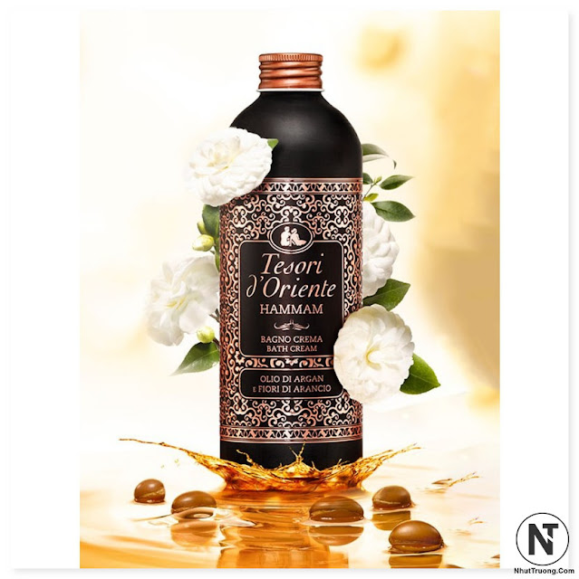 Sữa tắm nước hoa Tinh Dầu Argan Tesori D'Oriente 500ml