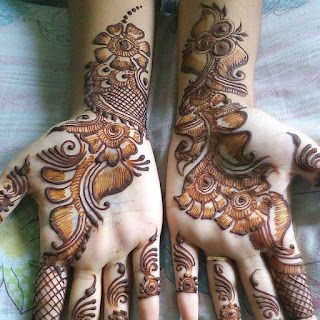 New mehndi design for Diwali