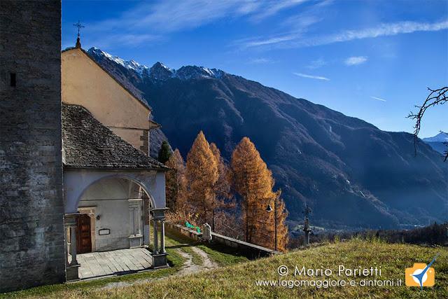 Mozzio frazione di Crodo: chiesa parrocchiale