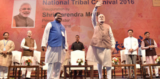National tribal carnival inaugurated in New Delhi