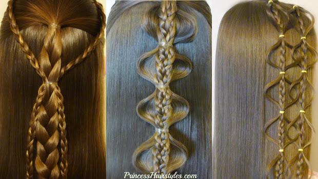 hairstyles girls - princess