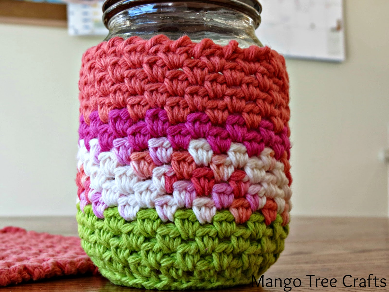 Mason Jar Cozy Pattern