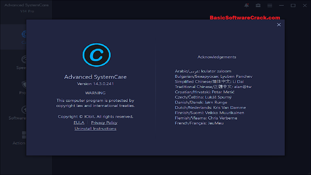Advanced SystemCare Pro v14.3.0 With Crack Download Free