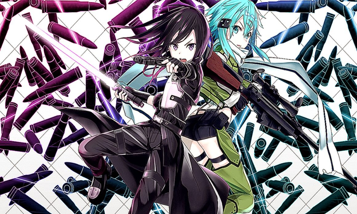 Gun Gale Online Anime Sinon Backgrounds Hd Wallpaper Important