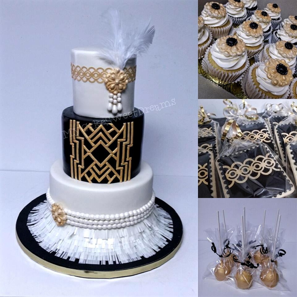 MyCakeSweetDreams: Great Gatsby Cake